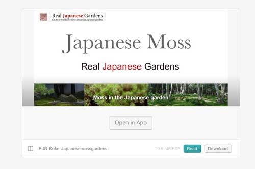 [Customer Voice]  Japanese Moss