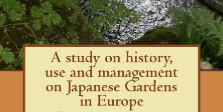 A study on Japanese Gardens in Europe