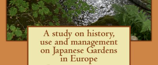 [Book review] A study on history, use and management on Japanese Gardens in Europe