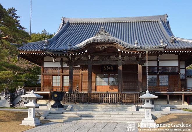Stone Lanterns in the Japanese garden
