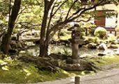 Chion-in temple Garden in Kyoto