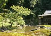 Engaku-ji temple Japanese garden in Kamakura