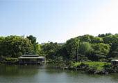 Kiyosumi Japanese garden in Tokyo