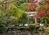 Konchi-in Japanese temple garden in Kyoto