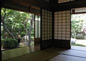 Kyu Asakura-ke Japanese garden in Tokyo