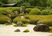 Meigetsu-in Temple garden in Kamakura