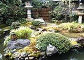 Namikawa-ke Japanese garden in Kyoto