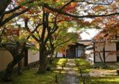 Daitoku-ji Obai-in temple garden in Kyoto