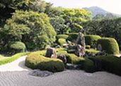 Raikyu-ji temple garden in Okayama