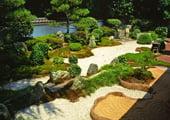 Reiun-in Japanese temple garden in Kyoto