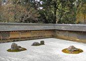 Ryoan-ji temple garden in Kyoto