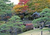 Sankeien Japanese Garden in Yokohama