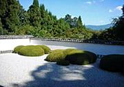 Shoden-ji Japanese temple garden in Kyoto