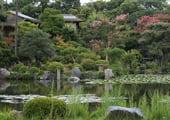 Shosei-en Japanese garden in Kyoto
