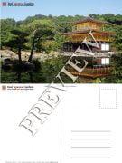Kinkaku-ji Postcard Golden Pavilion