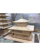 3D wooden puzzle Kinkaku-ji Golden Pavilion